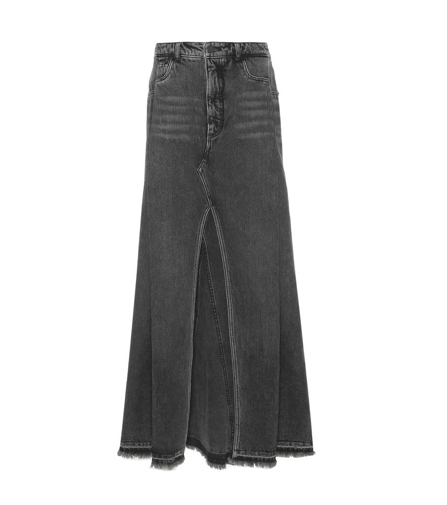Grey Denim Skirt 72