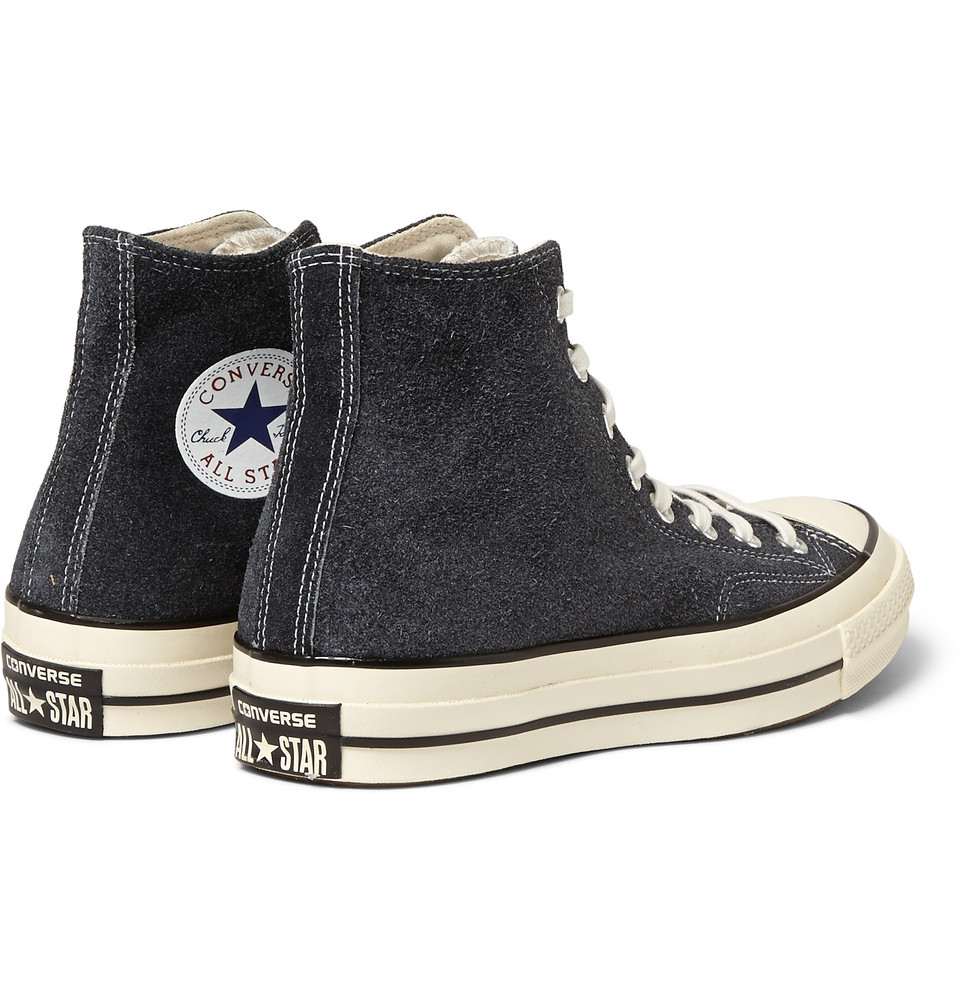 54725d14d16e ... Lyst - Converse 1970s Chuck Taylor Suede High-Top Sneakers in Black .