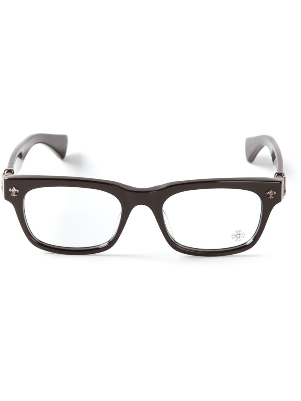 Lyst - Chrome Hearts Wayfarer Glasses in Black