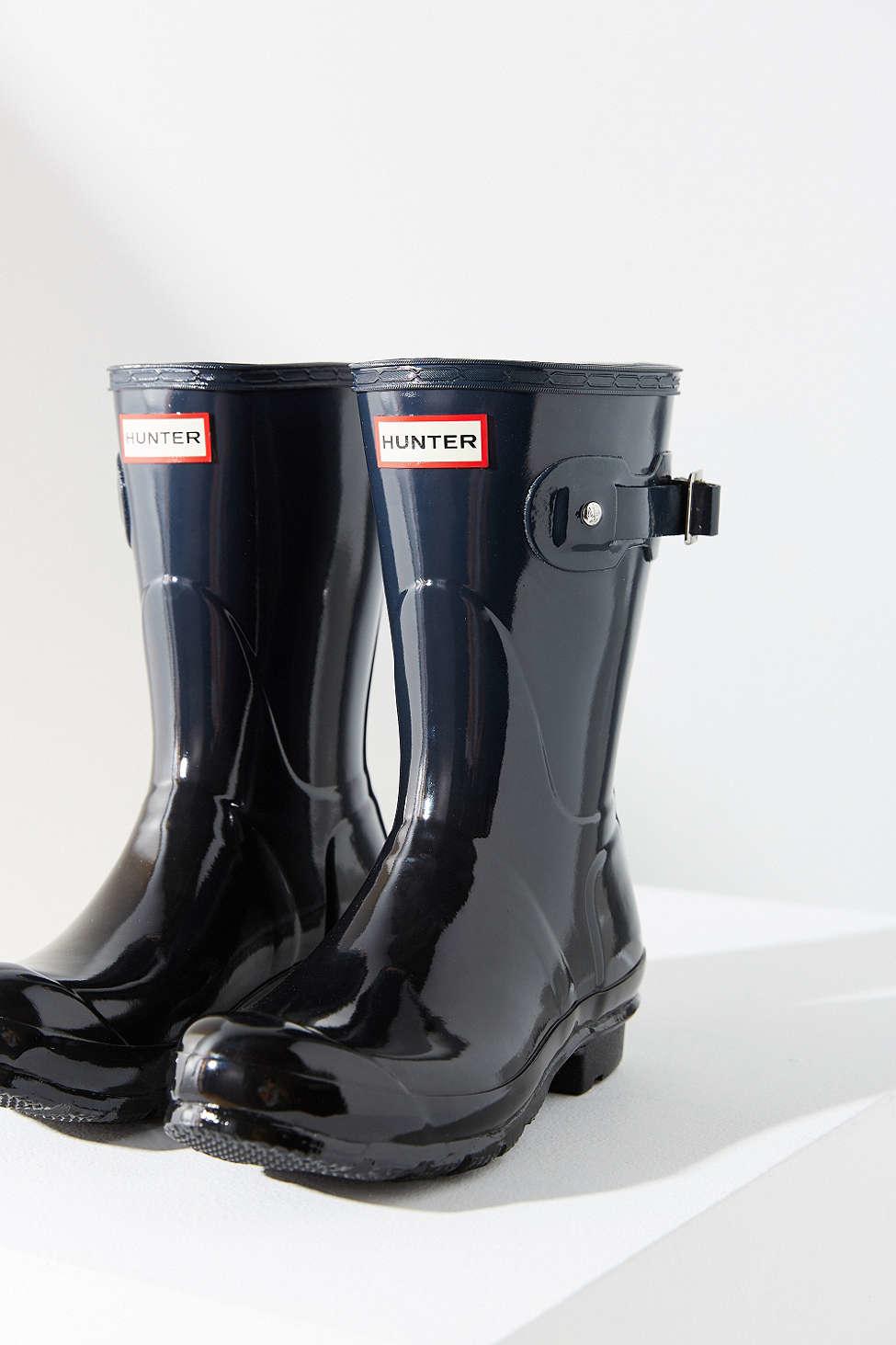 f73cf3066b0fe Lyst hunter haze short boot in black jpg 975x1463 Ombre tall boots hunter