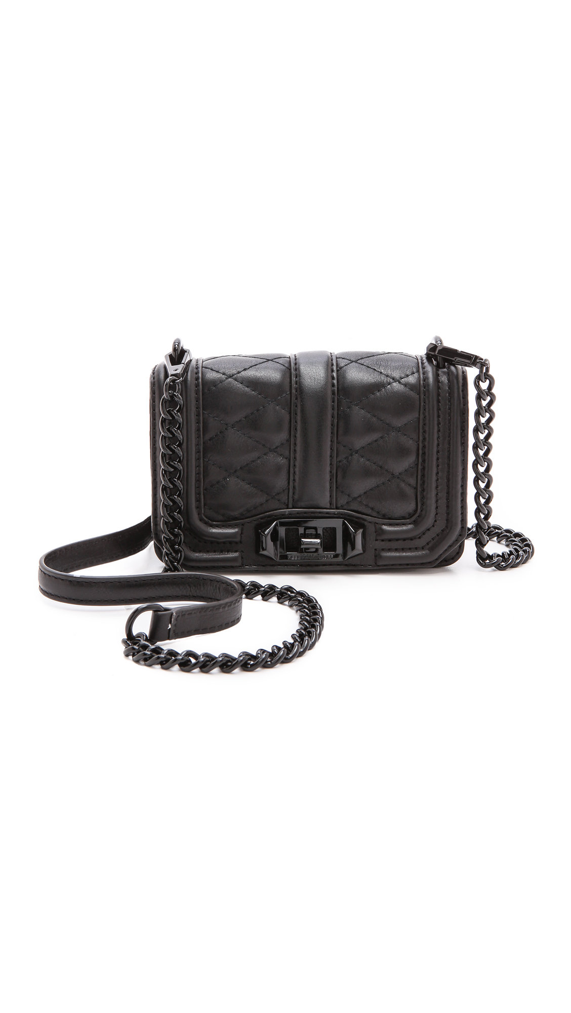 Rebecca minkoff Love Crossbody Bag in Black