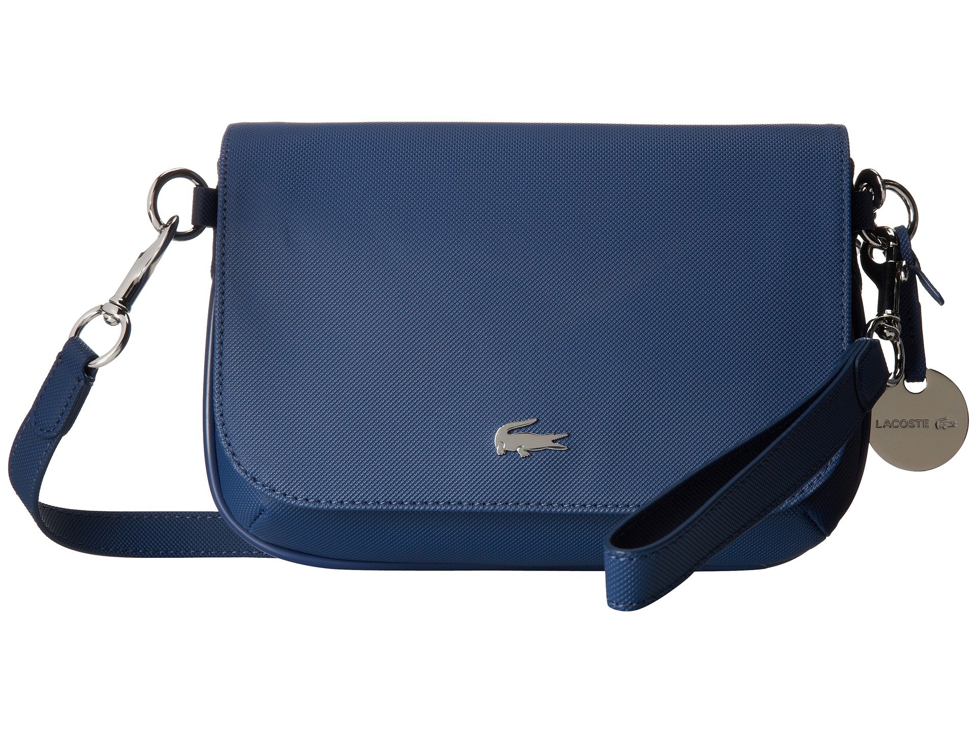 eac04e6086 Lacoste Daily Classic Crossover Bag in Blue - Lyst