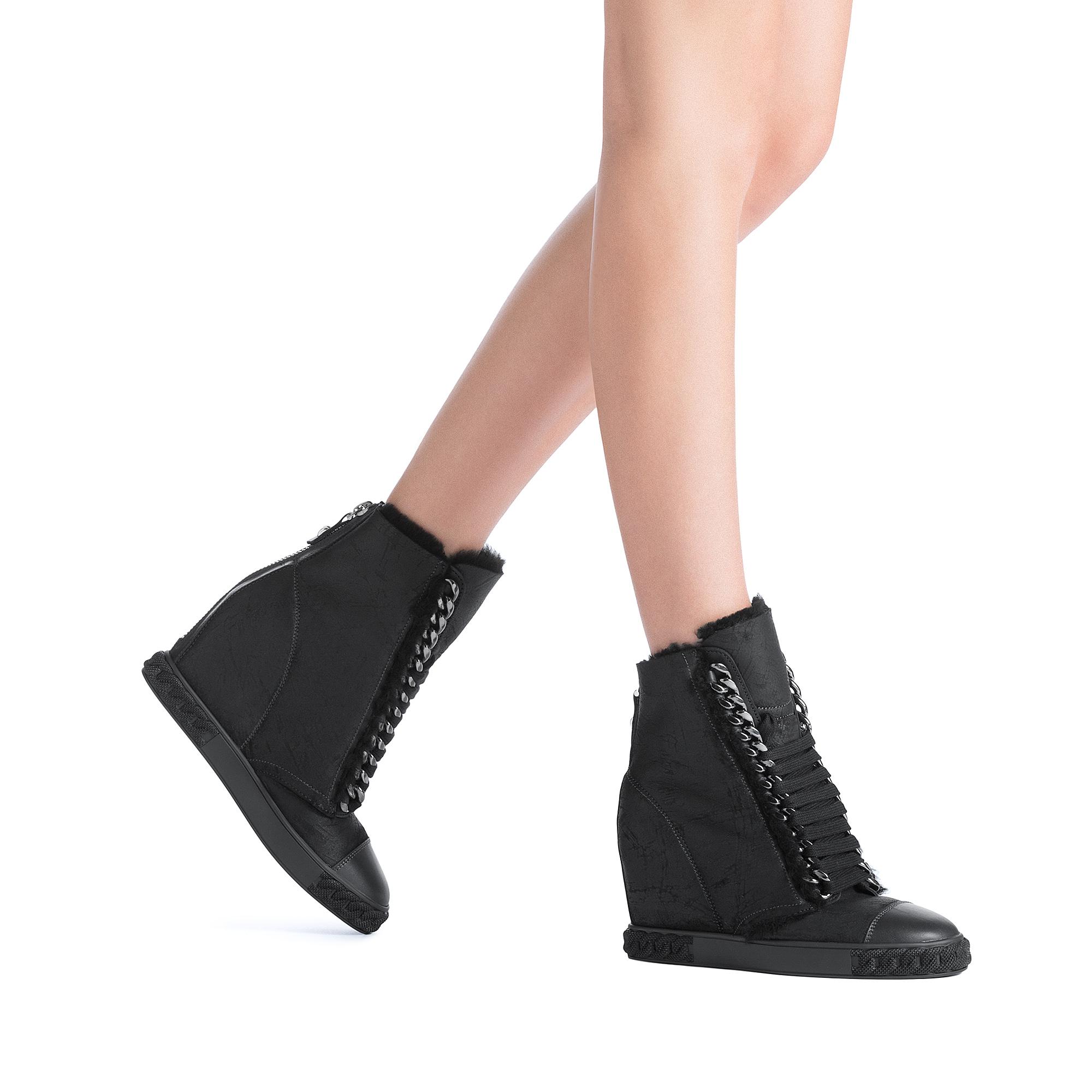 da0a34b12a1 Lyst - Casadei Sneakers in Black
