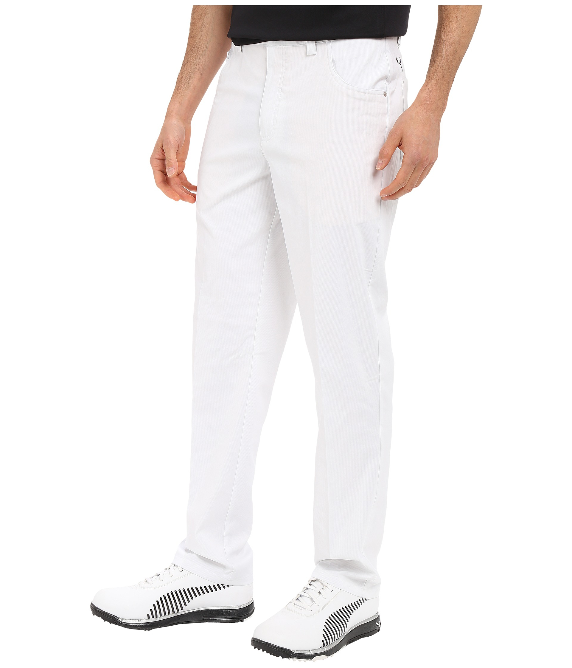d254e42700a6 Lyst - PUMA 6-pocket Pants in White for Men