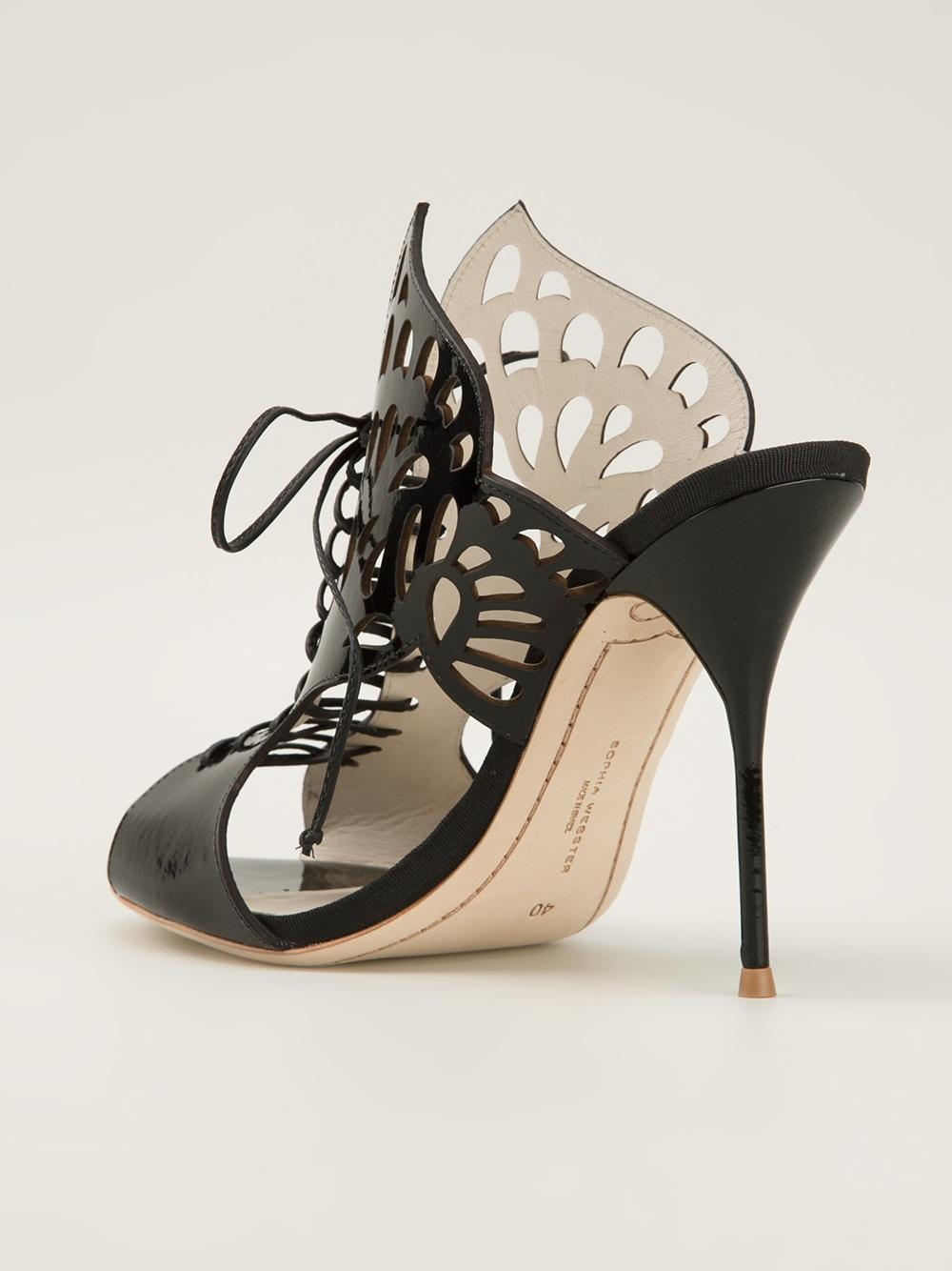 Sophia Webster Electra Sandals In Black Lyst