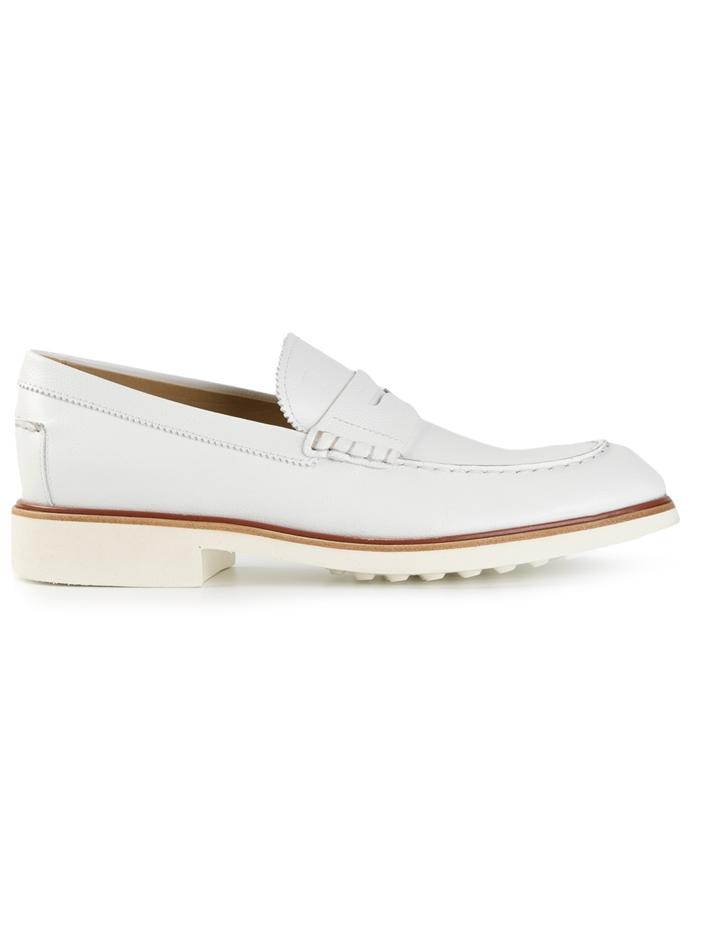 classic loafers - White Tod's PMSwi