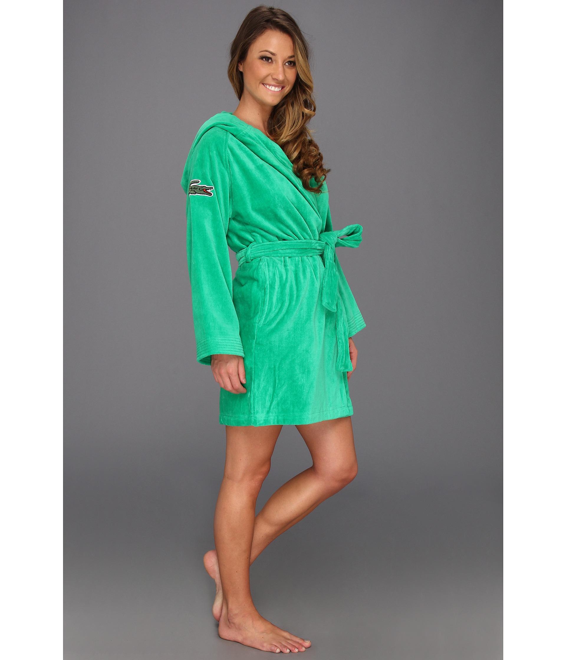 ... lacoste women s smash robe ... 8bd8f40ef
