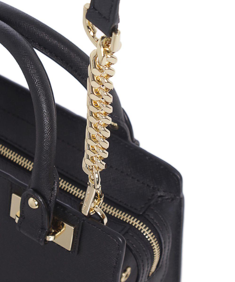 2c11025ba4c4 Lyst - MICHAEL Michael Kors Quinn Small Satchel Bag in Black