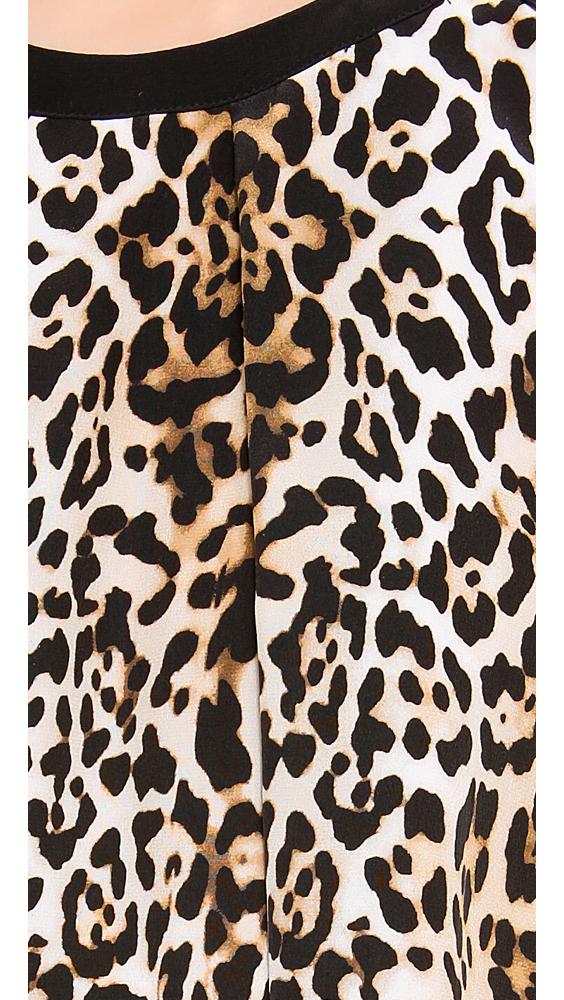 78f1255f0c1f Lyst - Rachel Zoe Pompei Keyhole Swing Dress in Brown