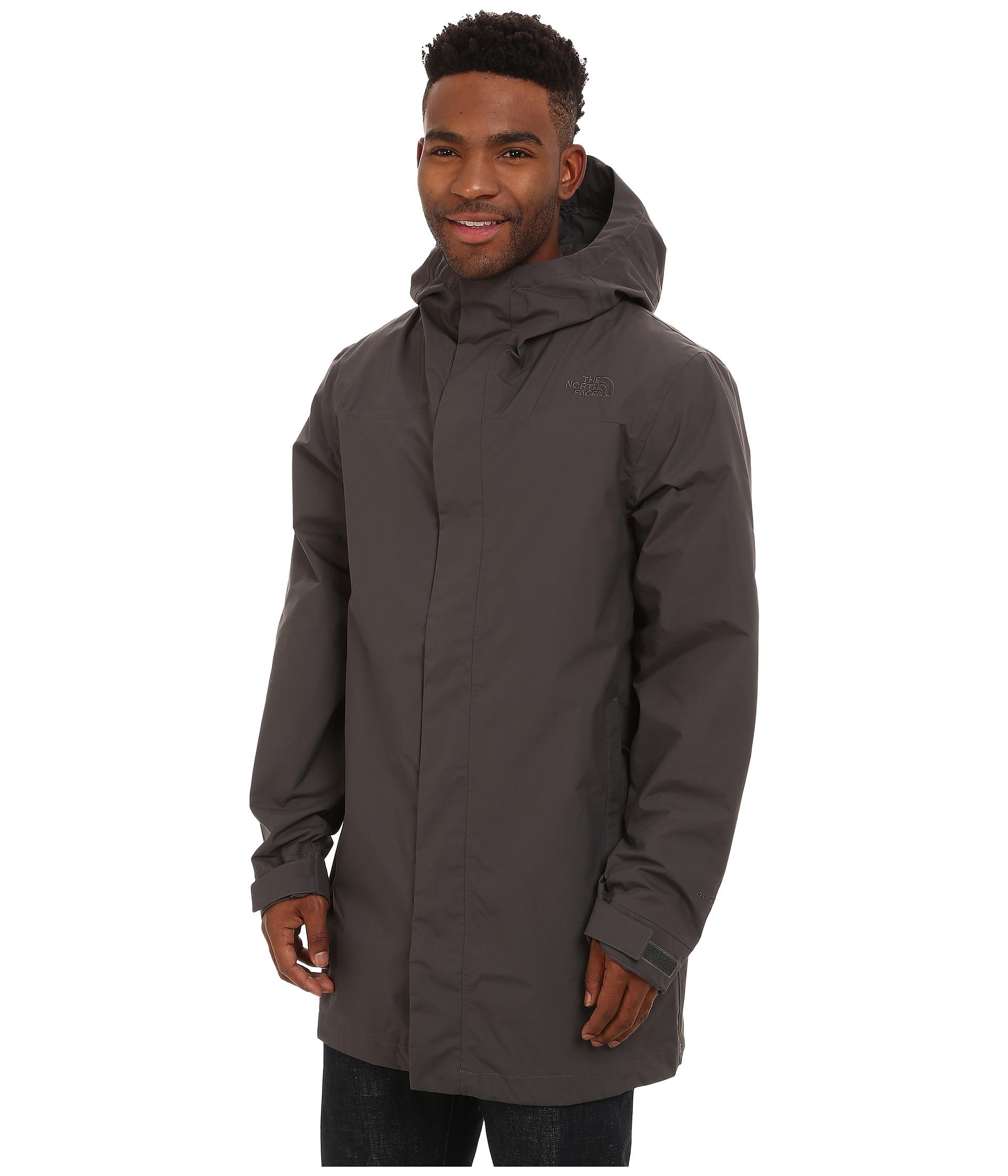 36d406716 The North Face Gray El Misti Trench Coat for men