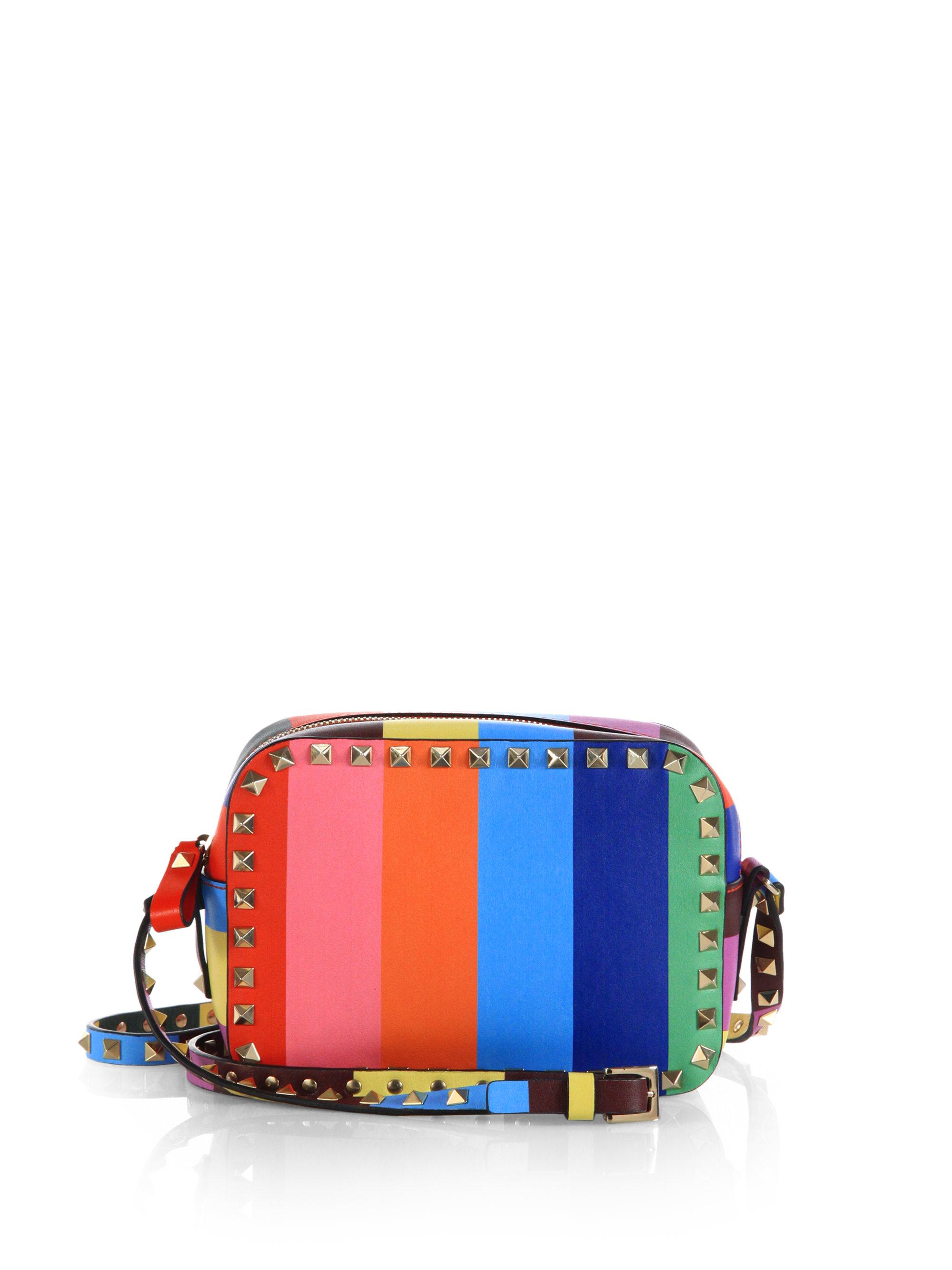 Valentino  Multicolor Rockstud 1973 Camera Bag  Lyst