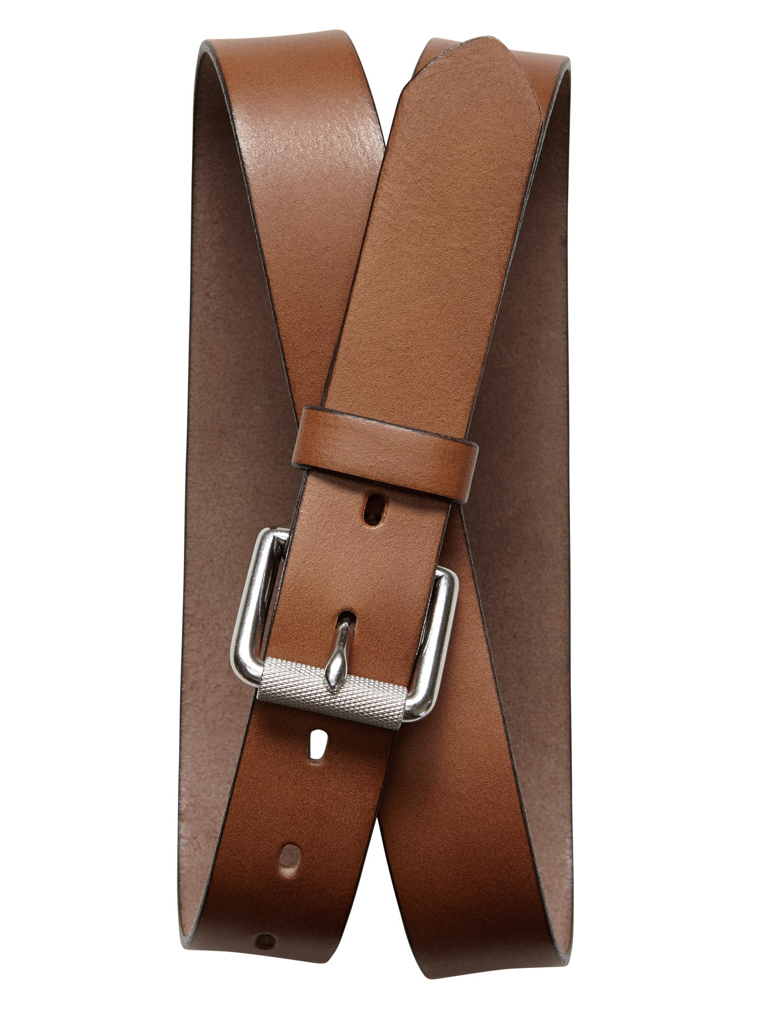 Banana Republic Cognac Leather Belt Cognac in Brown (Cognac) | Lyst