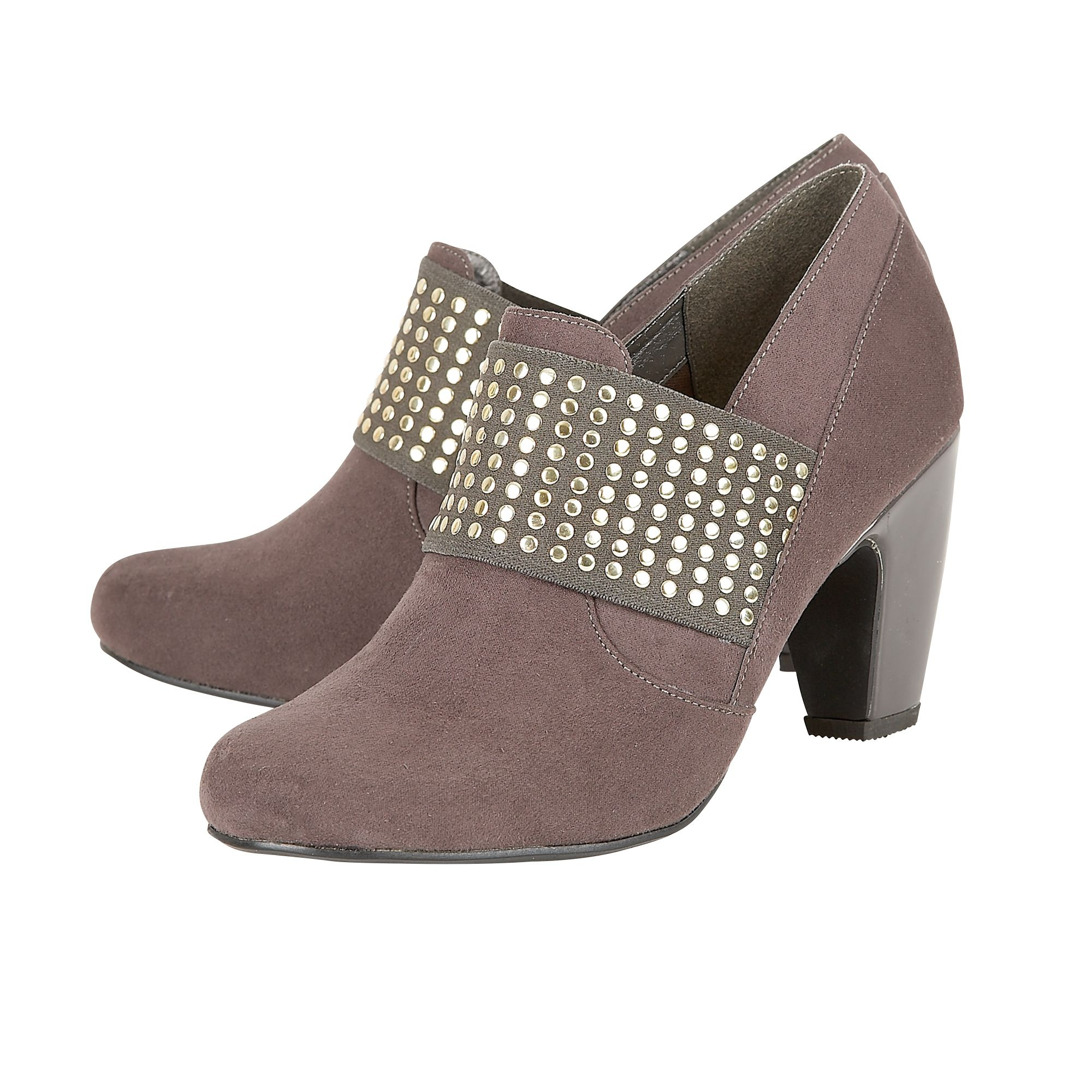 Lotus Luster Shoe-boots in Grey (Grey)