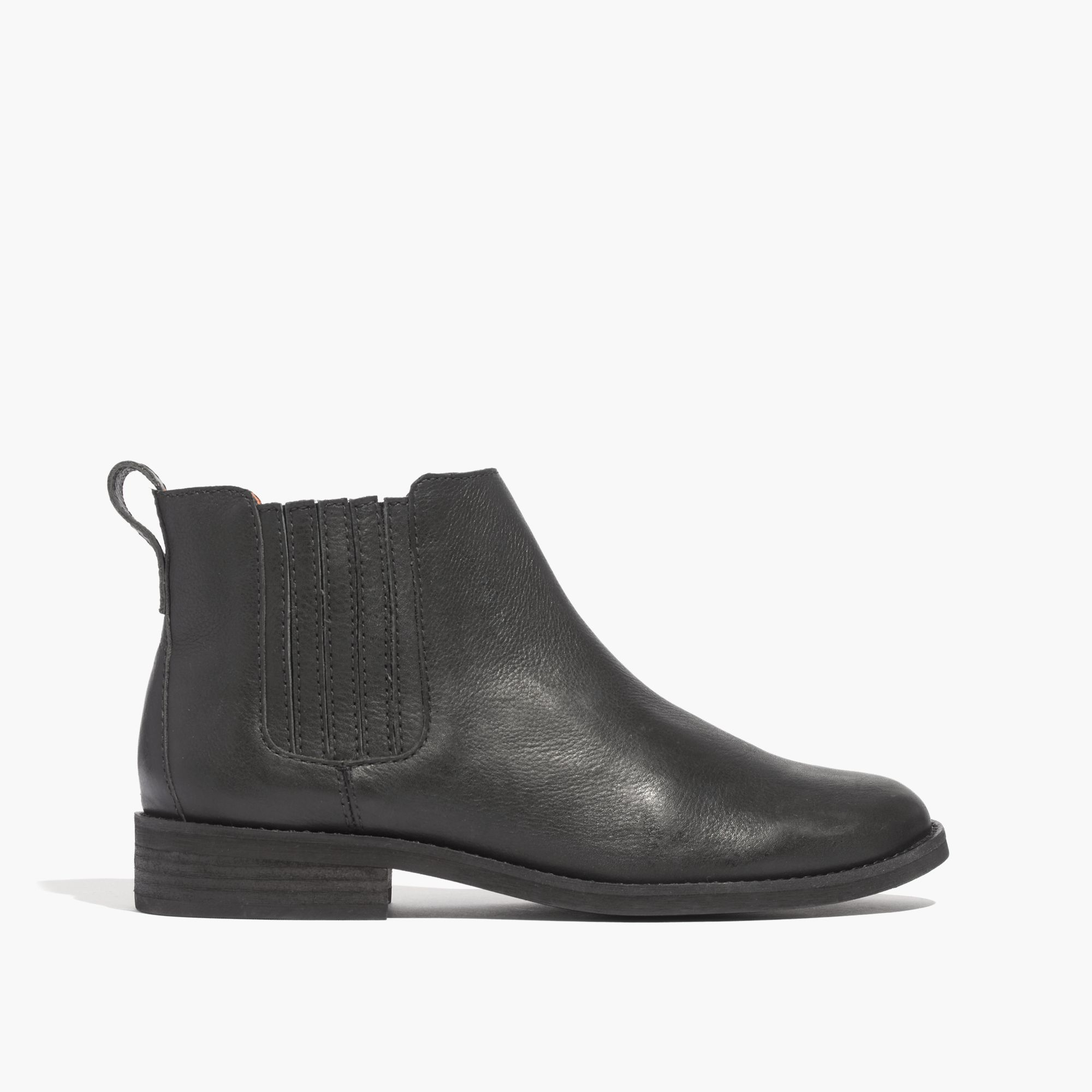 madewell the chelsea boot in black true black lyst