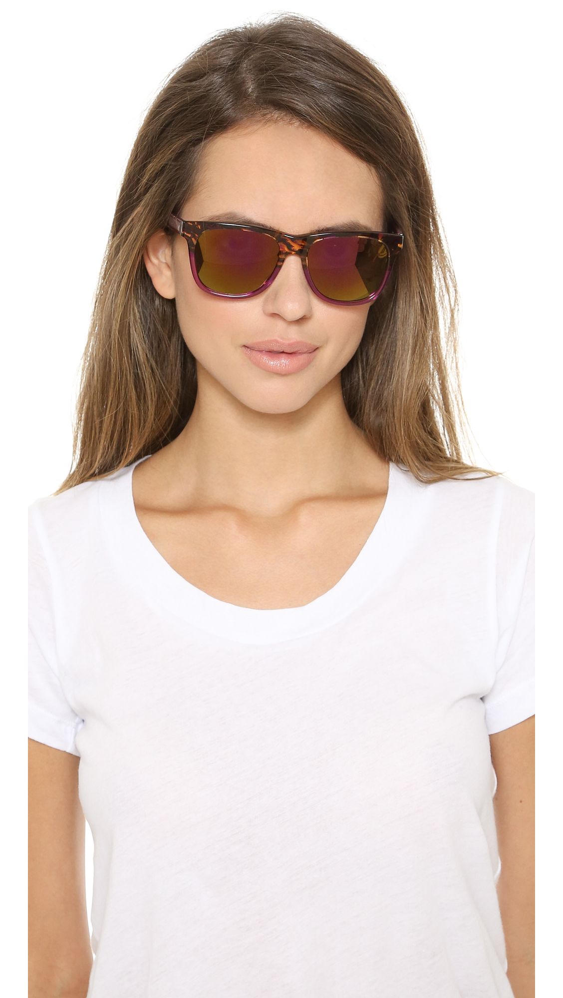Marc By Marc Jacobs Mirrored Sunglasses - Havana Green/green