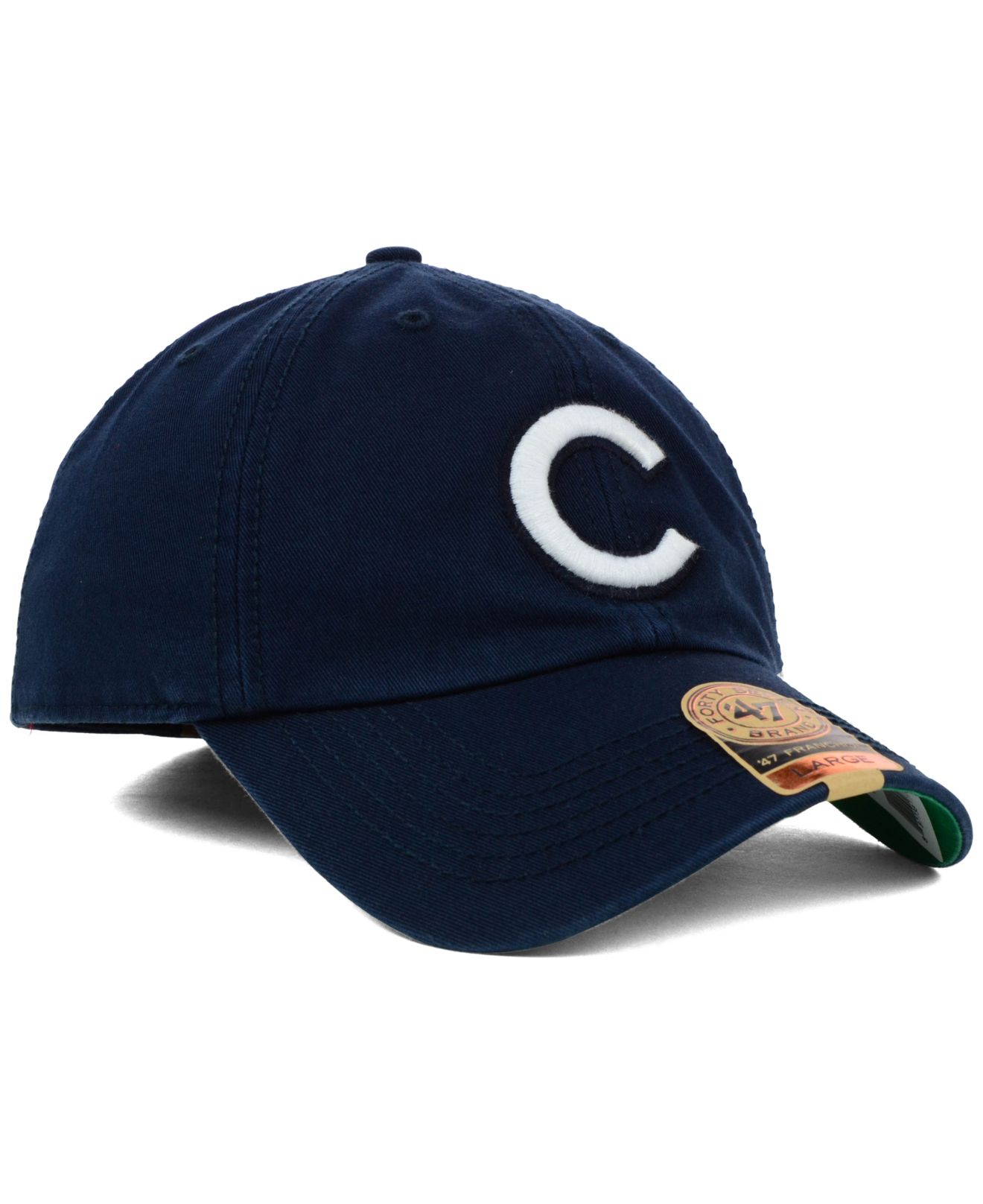 e74740762df21 italy lyst 47 brand chicago cubs mlb harbor franchise cap in blue for men  6a173 ffe39