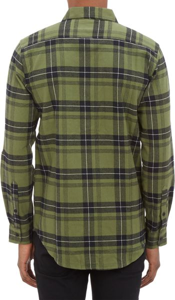Gingham Shirt Mens