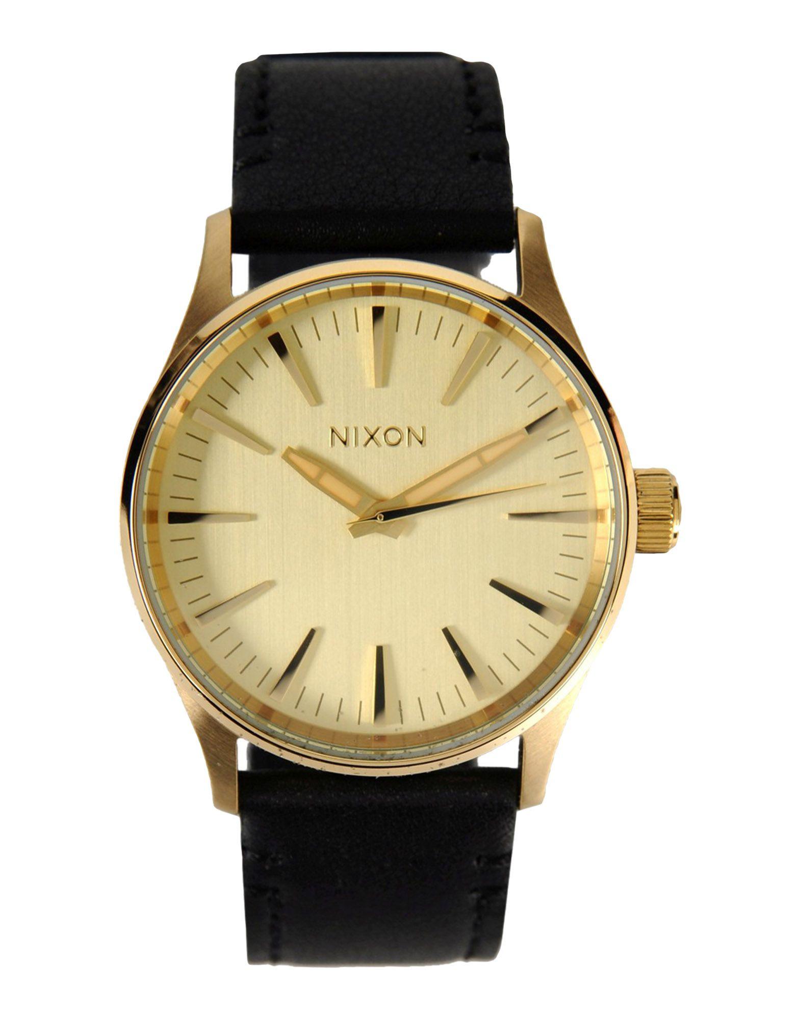 Men Gold Watch On Wrist