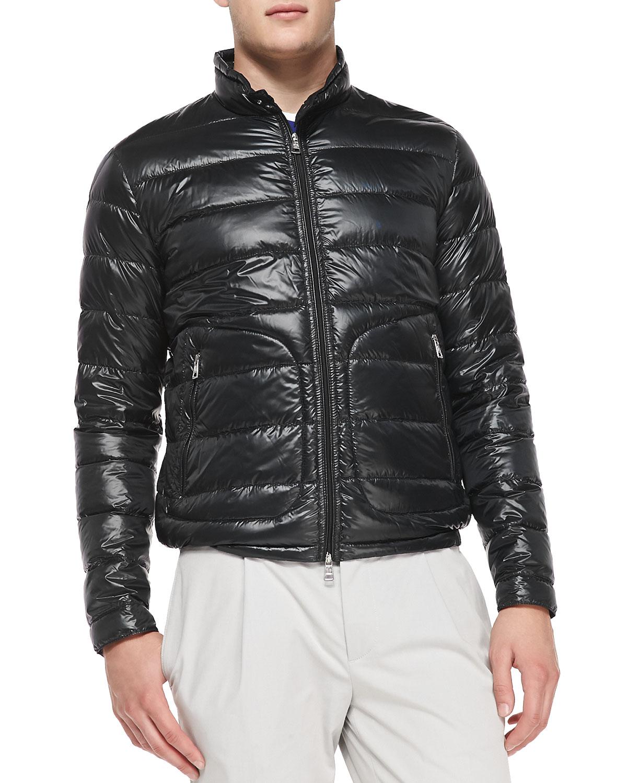 moncler mens acorus jacket black