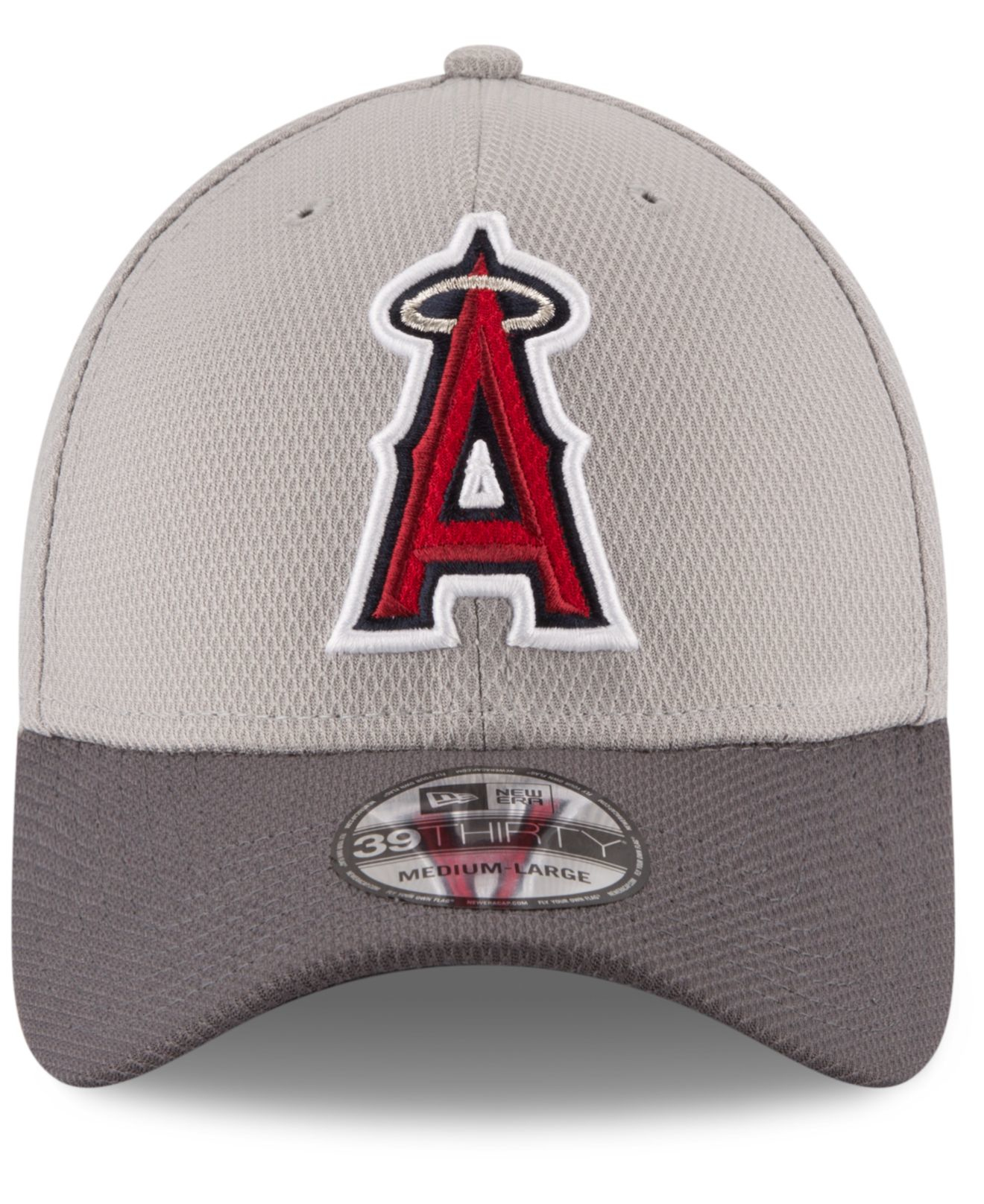 big sale acfcb b651d ... get lyst ktz los angeles angels team grayed 39thirty cap in gray for men  7ed27 9f13c