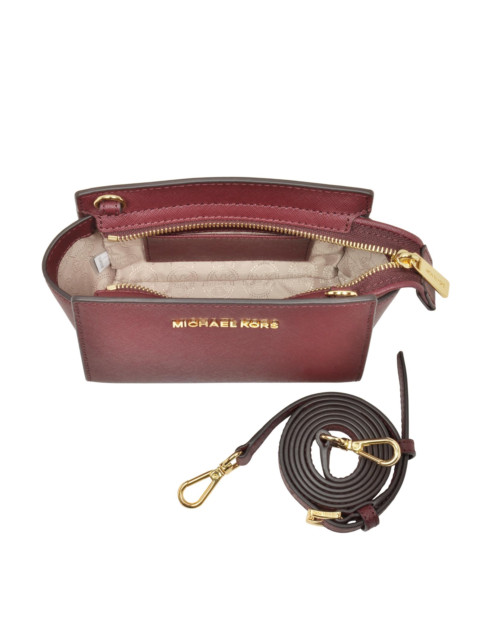 510a28ea07f2 Gallery. Women's Leather Messenger Bags Women's Michael By Michael Kors  Selma