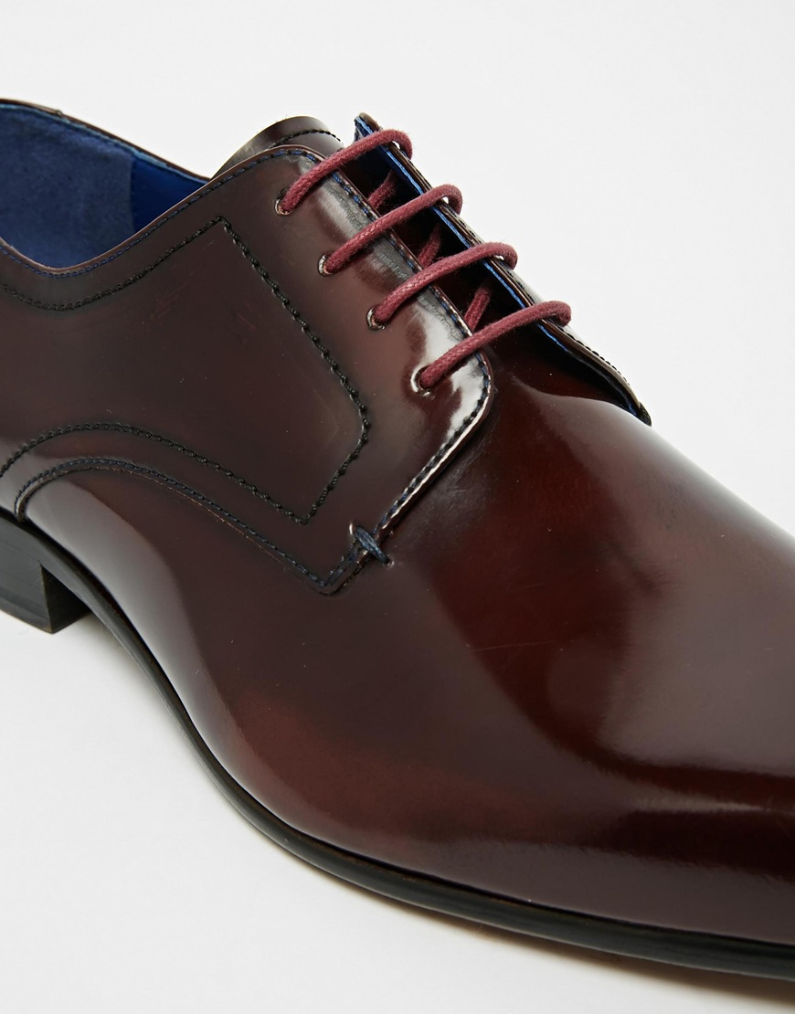 Ted Baker Billay Leather Derby Shoes in