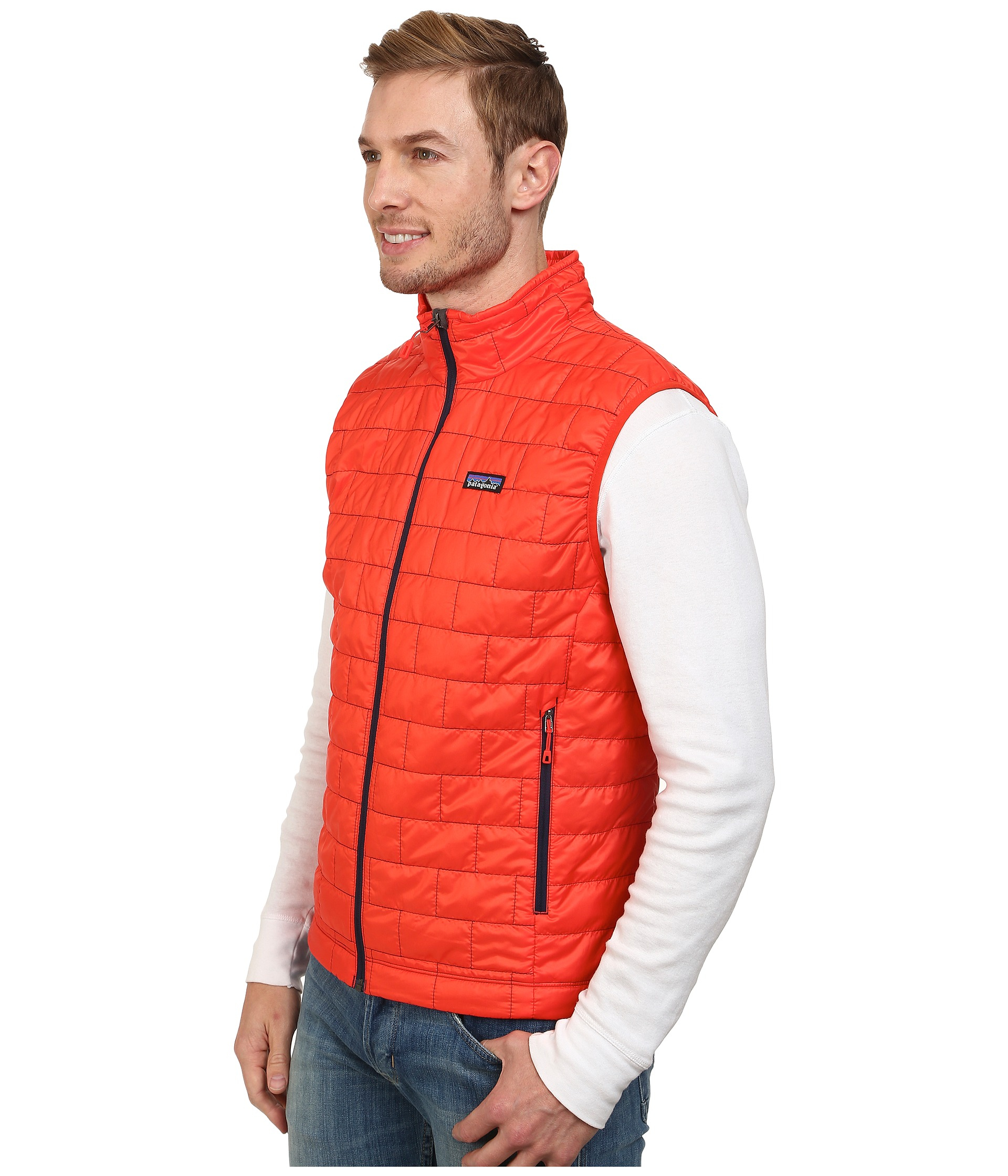 Patagonia Nano Puff® Vest in Red for Men | Lyst