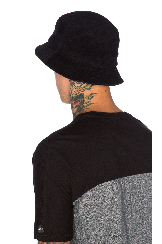 ab5e4f1fc7b Lyst - Stussy Terry Stock Lock Bucket Hat in Black for Men
