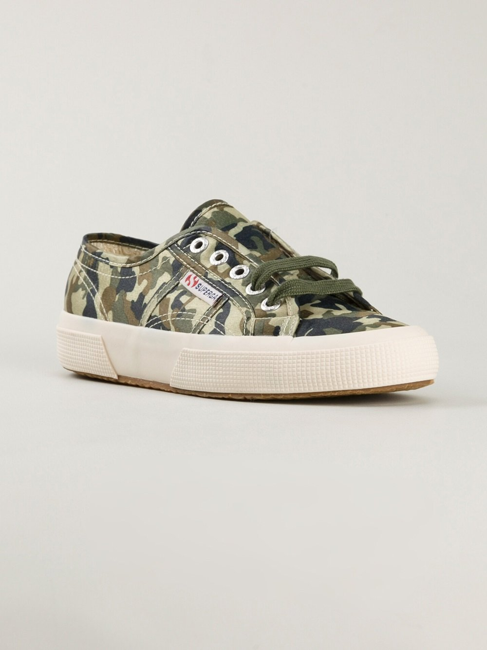newest collection 2d002 920ae Superga Green Camouflage Trainer