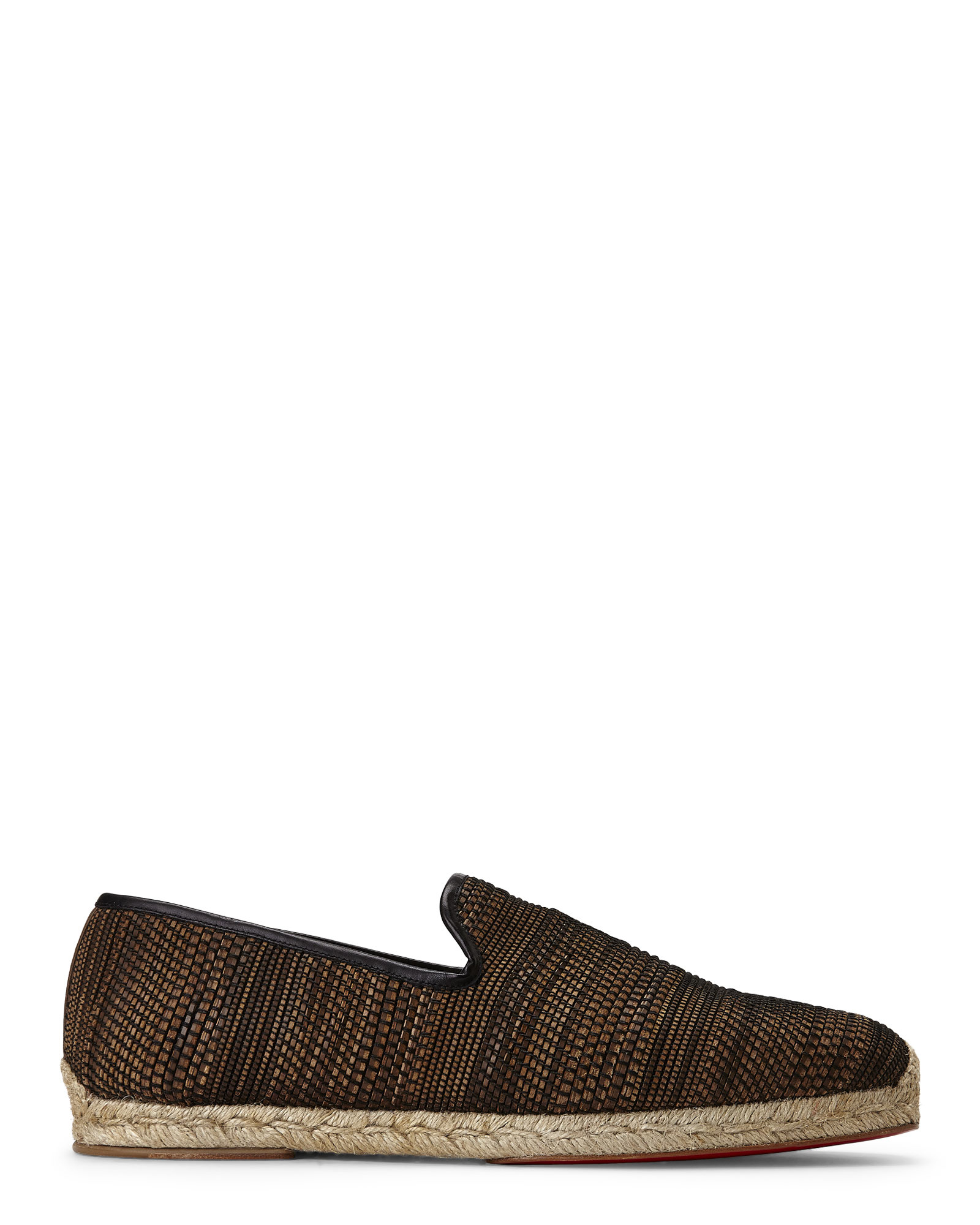 best replica shoes - Christian louboutin Coffee \u0026amp; Black Relax Espadrilles in Brown for ...