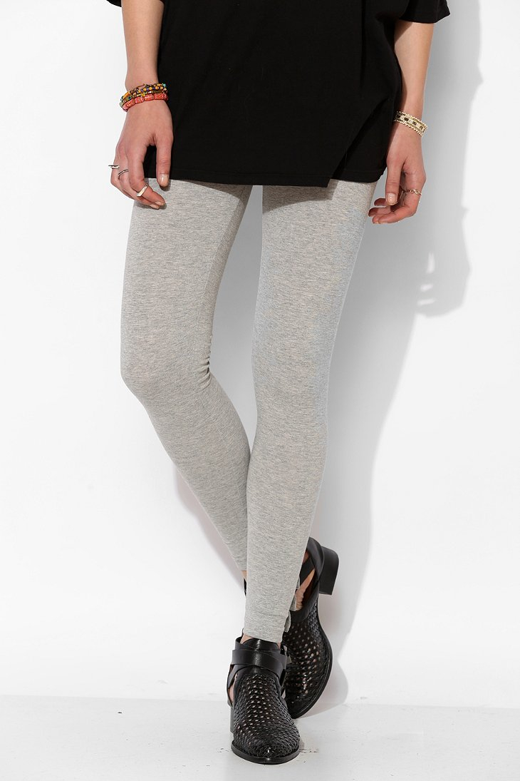 Lyst Betsey Johnson Baby Bows Cutout Legging in Gray