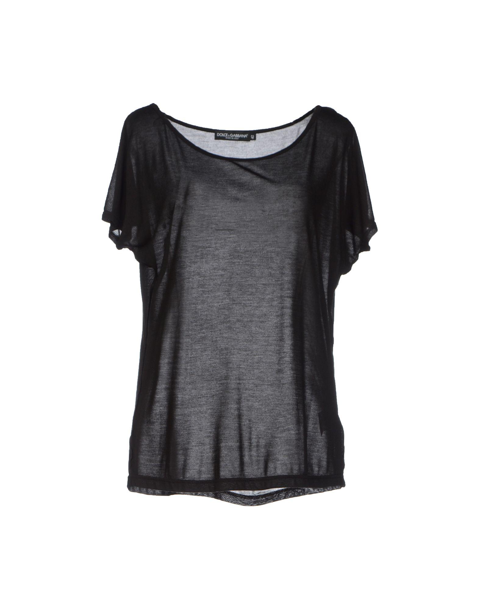 dolce gabbana t shirt in black lyst. Black Bedroom Furniture Sets. Home Design Ideas