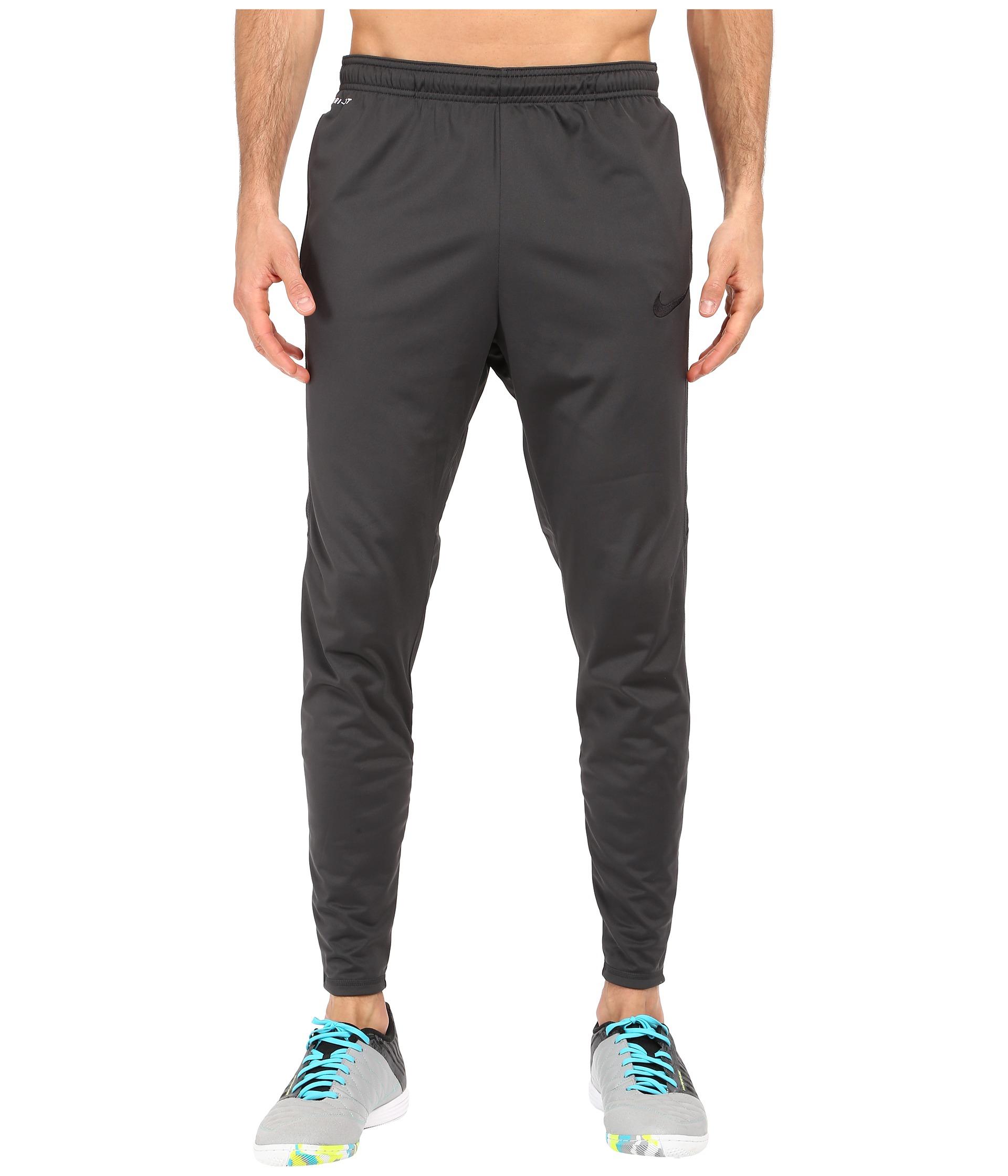Nike Strike Tech Soccer Pant in Gray for Men | Lyst