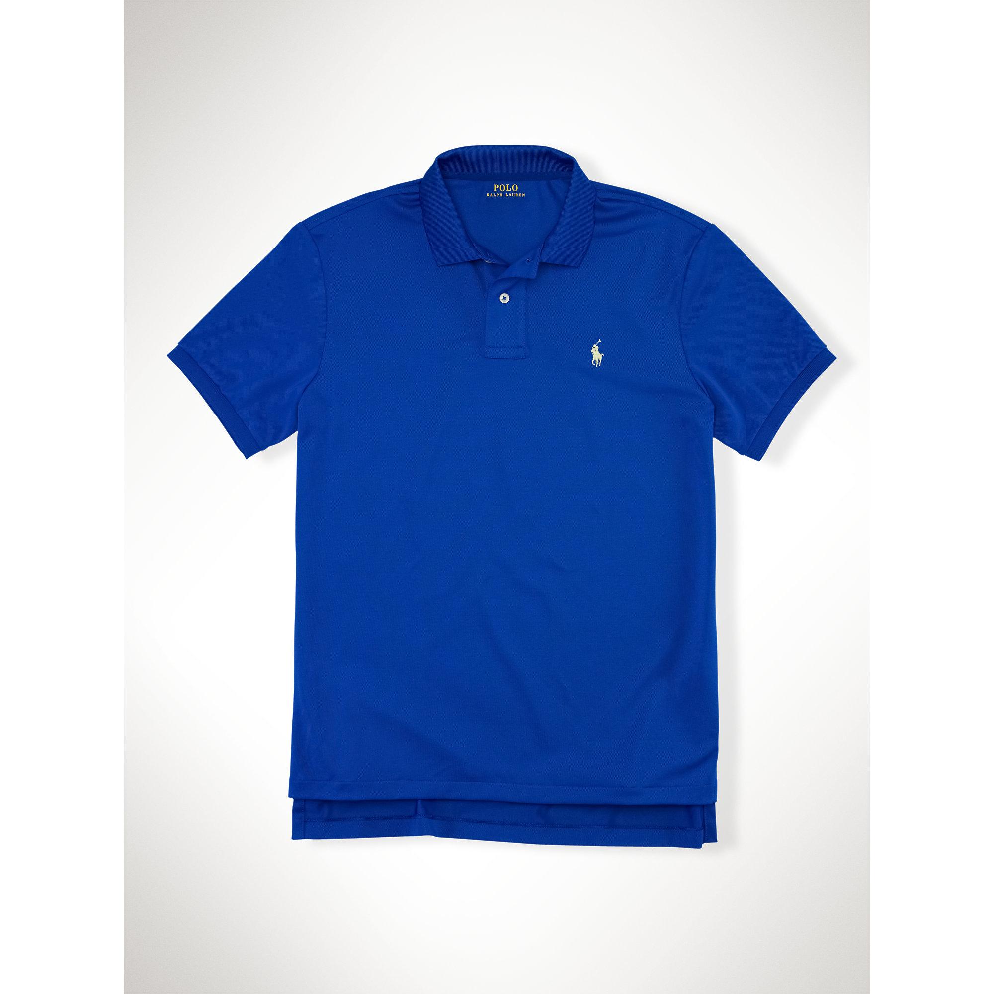 Lyst Polo Ralph Lauren Performance Mesh Polo Shirt In