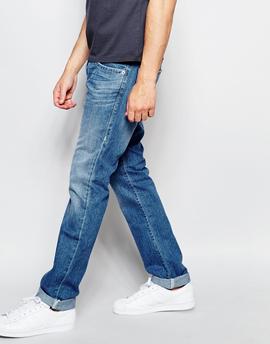 e701dc3c6c73 Lyst - True Religion Jeans Rocco Slim Fit Four River Mid Wash in ...