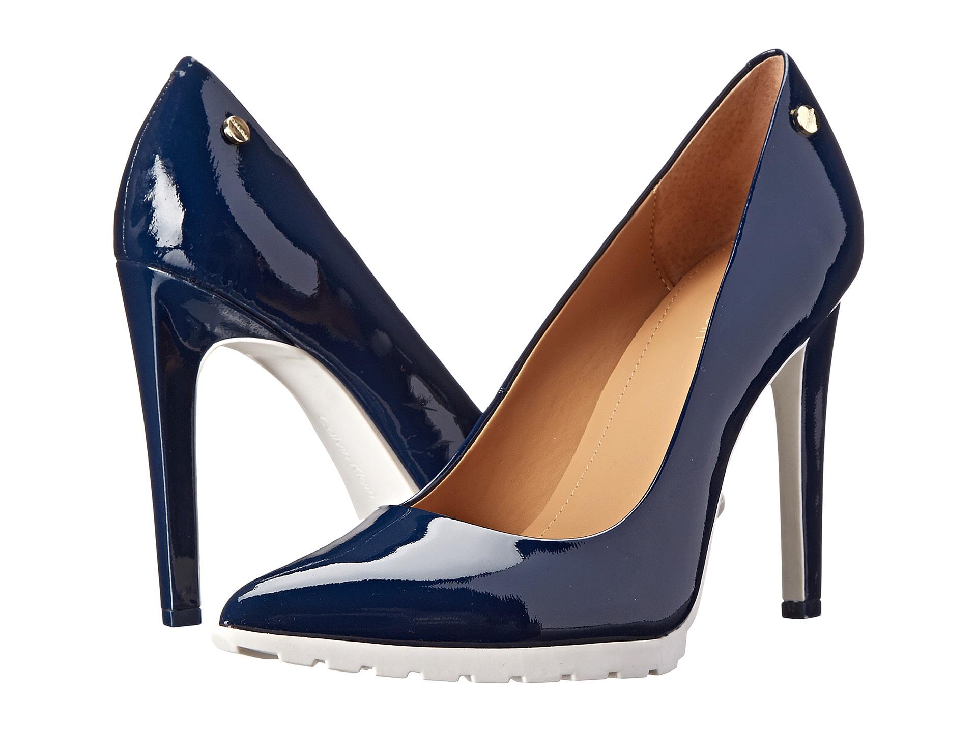 a0bbd1782bc Lyst - Calvin Klein Brigitte in Blue