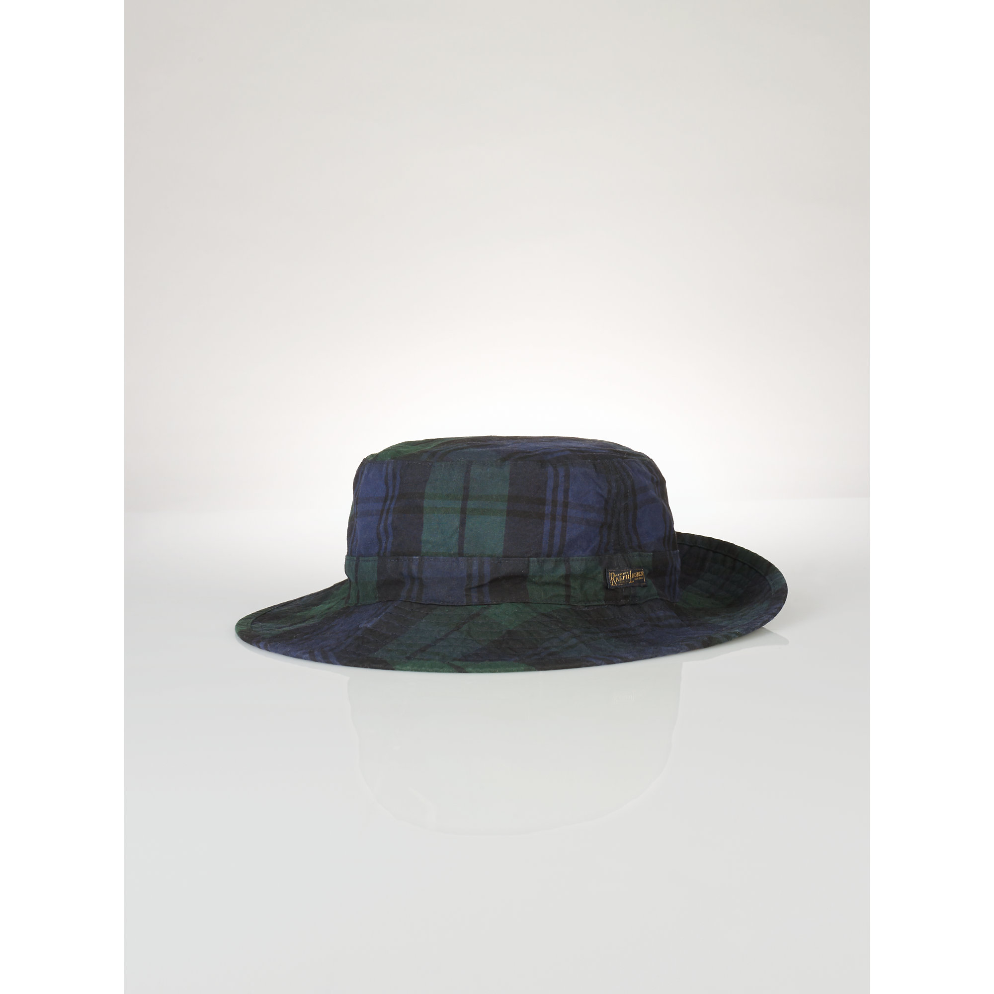 Lyst - Polo Ralph Lauren Blackwatch Oilcloth Bucket Hat in Blue for Men f133fff1a72a