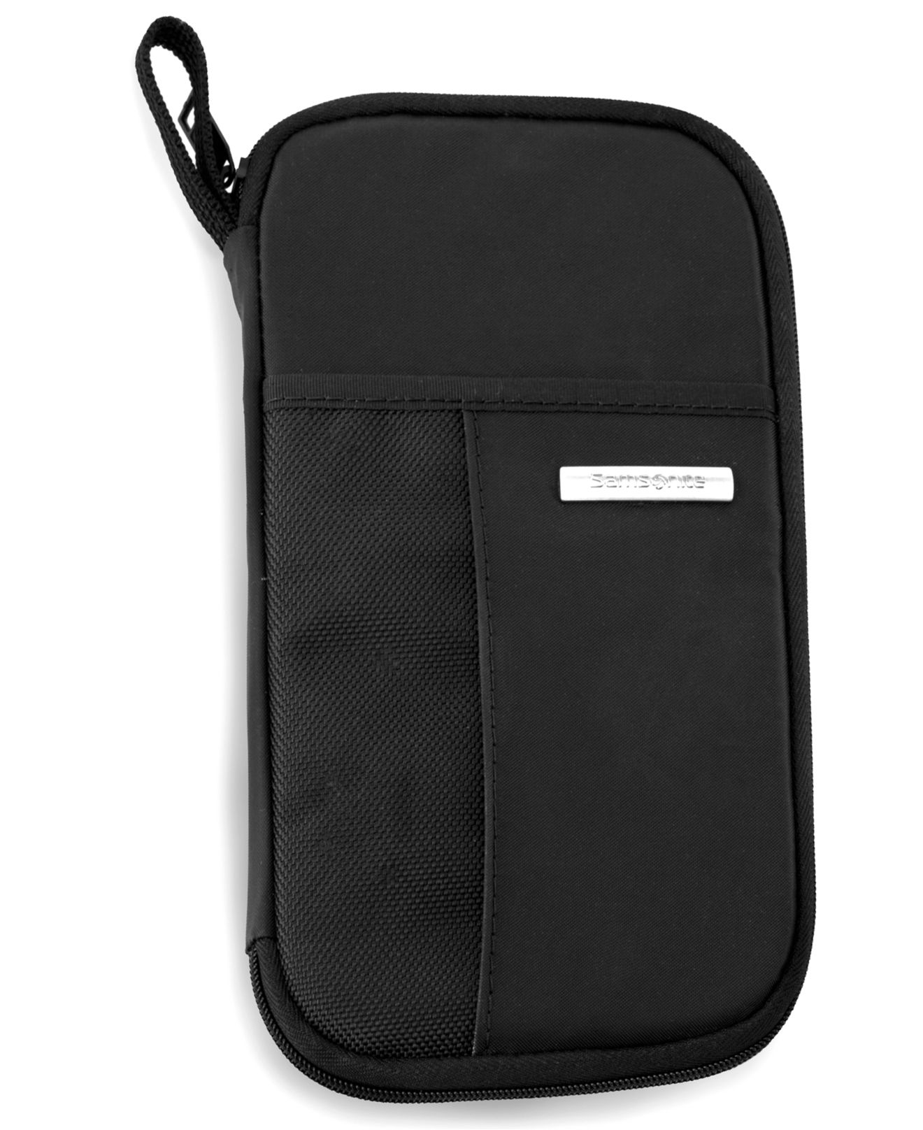 Samsonite Zip Close Travel Wallet In Black For Men Lyst