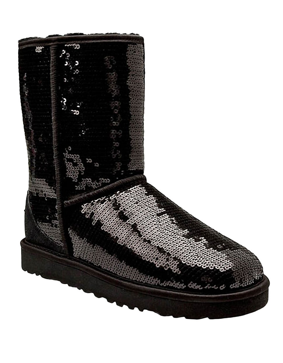 ugg australia classic short sparkle boots. Black Bedroom Furniture Sets. Home Design Ideas