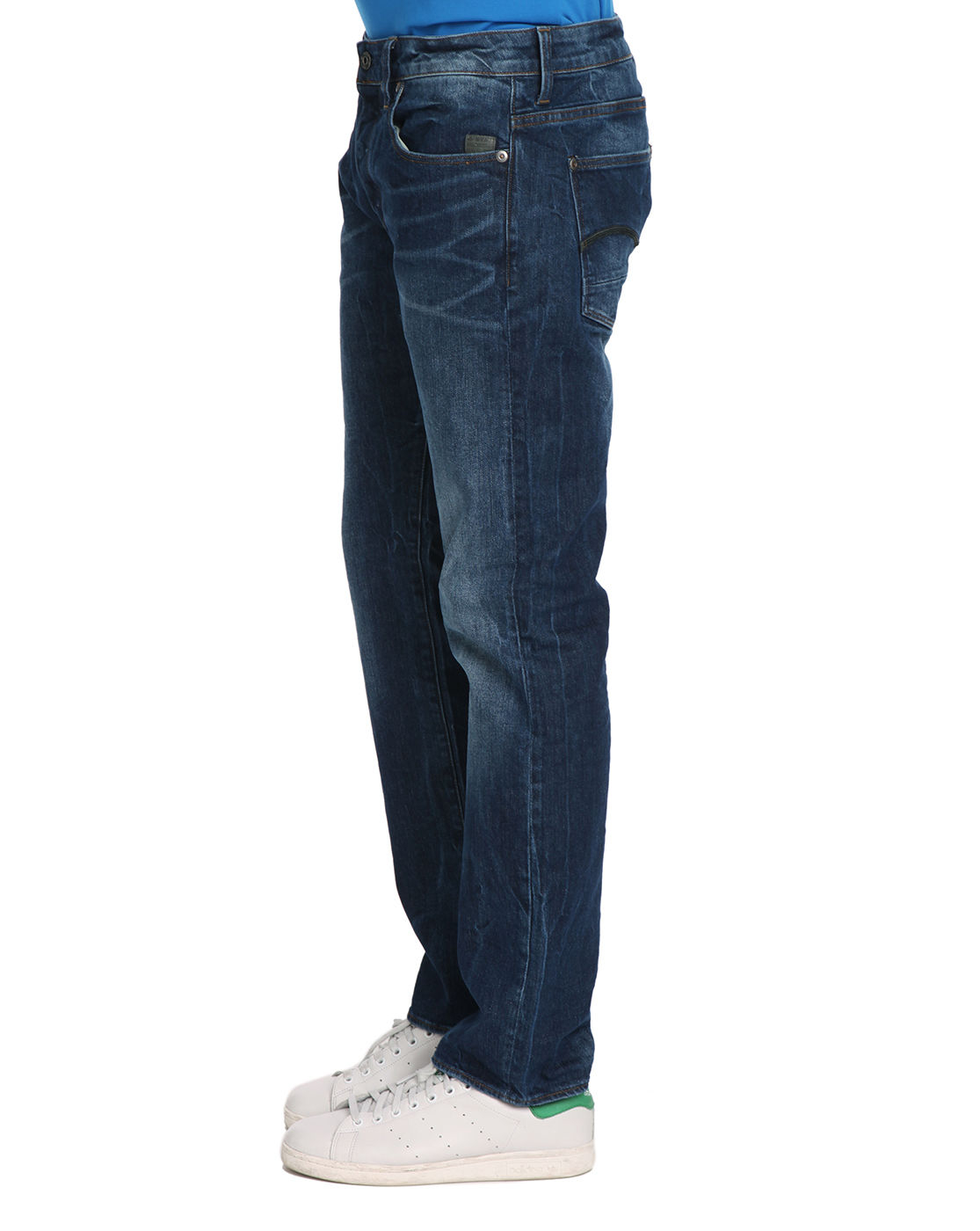g star raw washed straight jeans in blue for men lyst. Black Bedroom Furniture Sets. Home Design Ideas