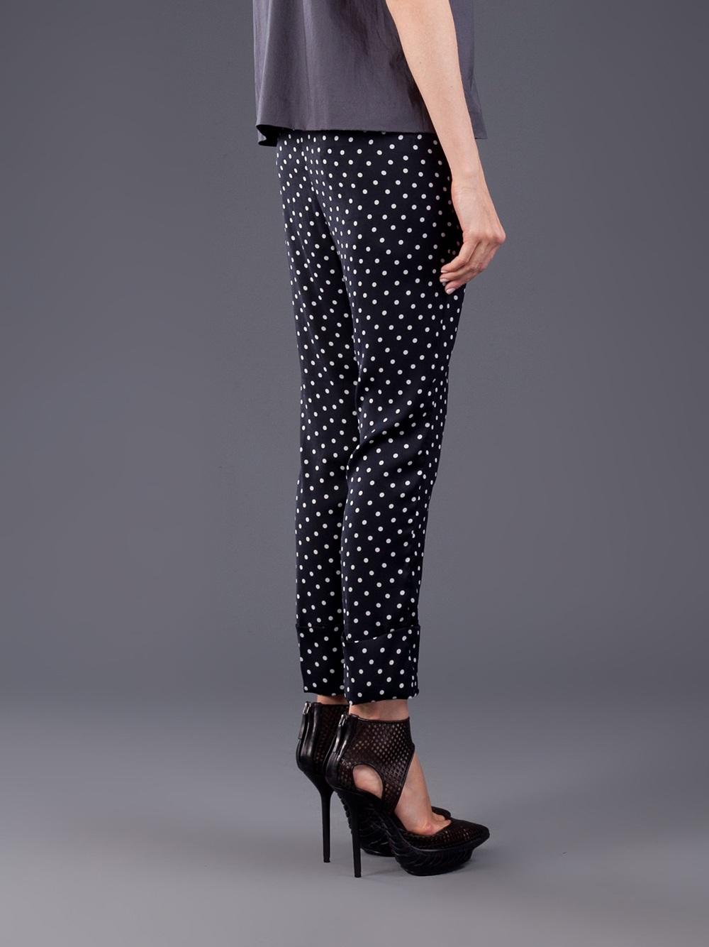 Cheap Sale Order Free Shipping Nicekicks Haider Ackermann polka dot trousers Cheap Popular UnXvQQOY7w
