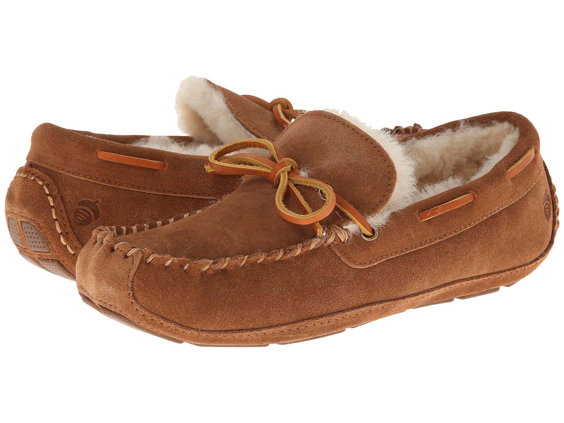 a4e2b2b39a36 Snap Acorn moxie Moccasin Slipper in Brown for Men Lyst photos on ...