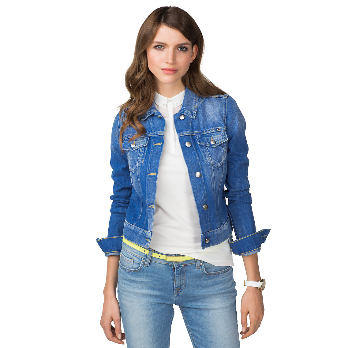 Tommy hilfiger Vienna Denim Jacket in Blue (shiloh) | Lyst