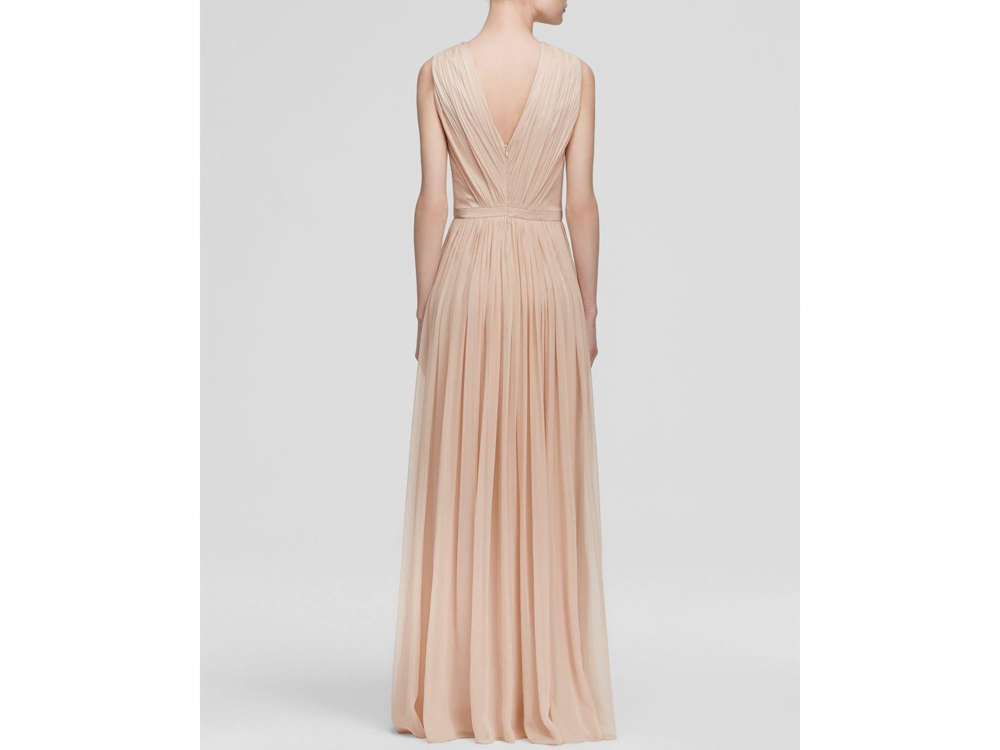 Vera Wang Chiffon Dress