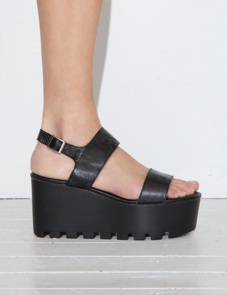 All Black Platform Shoes
