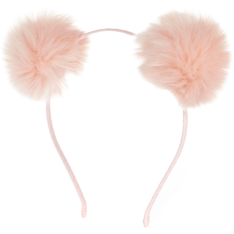 db1c52efc24e River Island Girls Pink Pom Pom Ear Headband in Pink - Lyst