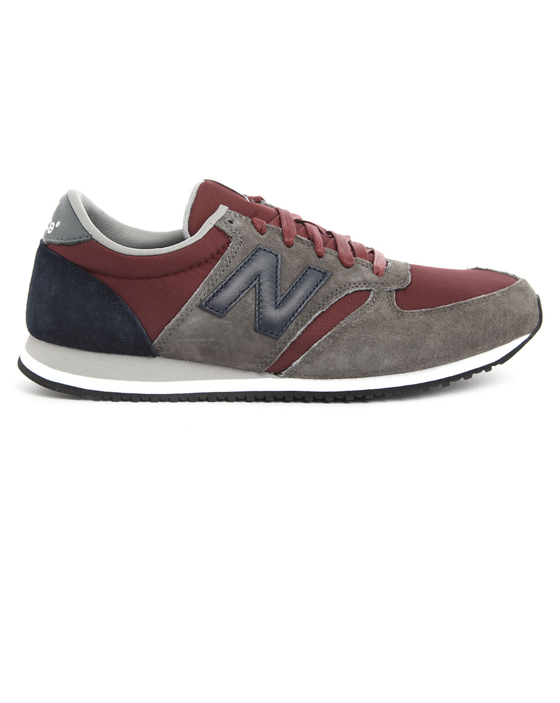new balance grey bordeaux suede 420 sneakers in gray for men grey lyst. Black Bedroom Furniture Sets. Home Design Ideas