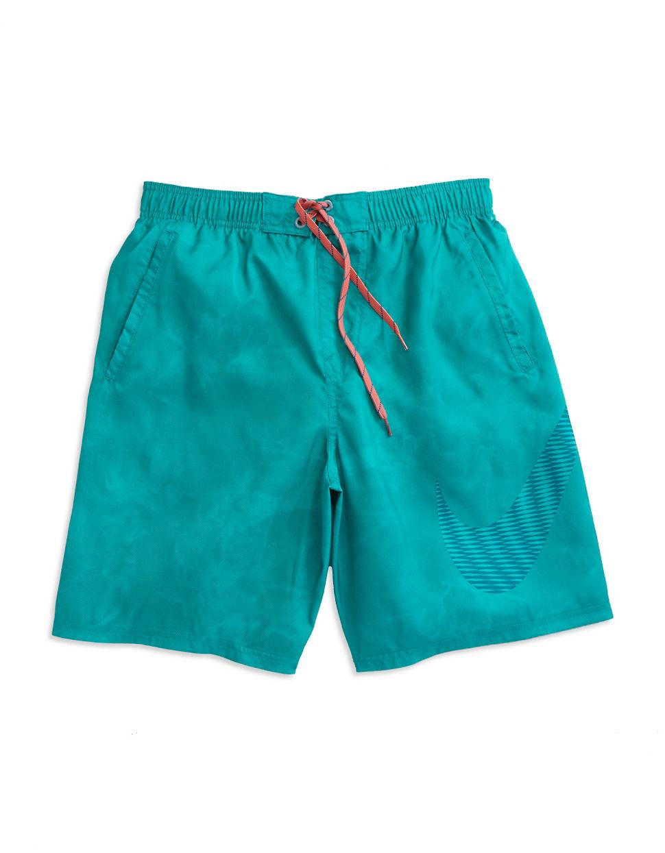 Nike Drawstring Swim Trunks in Green for Men (Energy) | Lyst