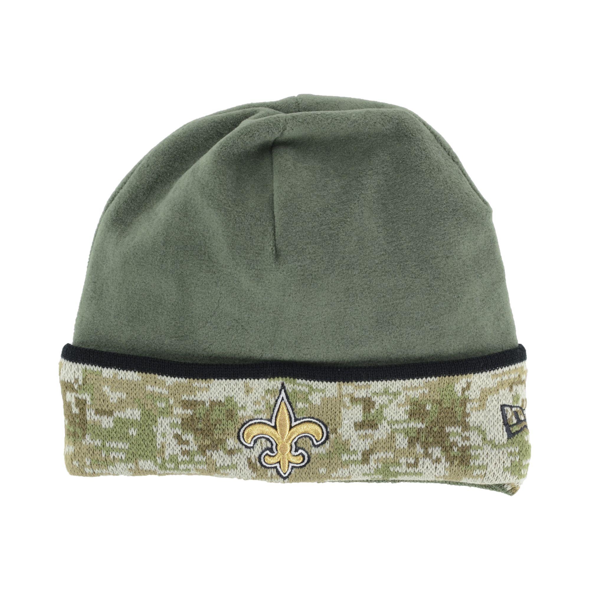 e019b0d2c KTZ New Orleans Saints Salute To Service Knit Hat in Green for Men ...