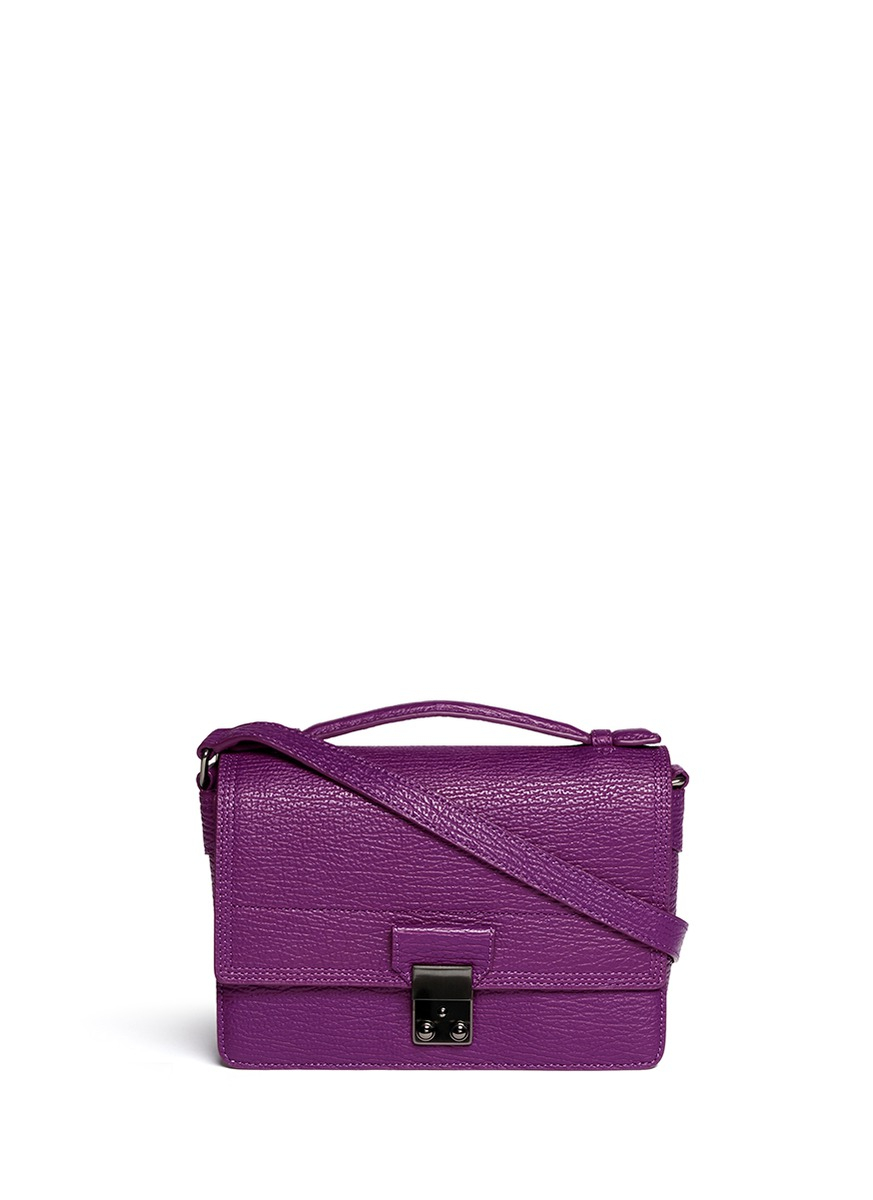 3 1 Phillip Lim Pashli Mini Leather Messenger Bag In